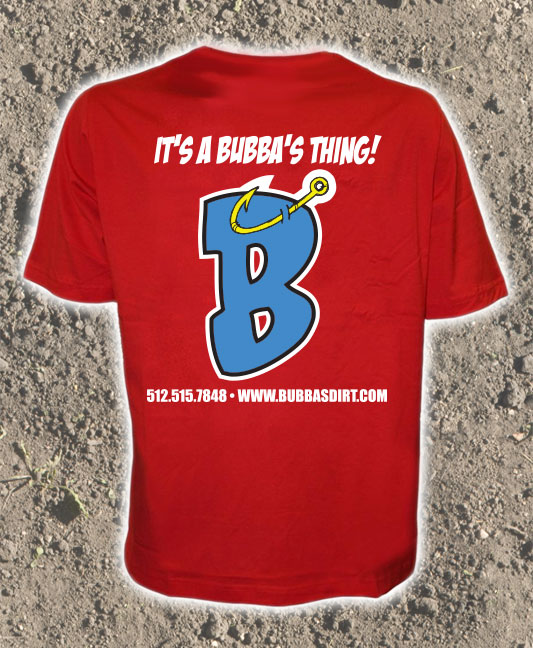 Bubba's Dirt And Landscape Supplies Red Hook T-Shirt