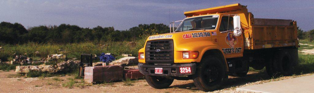 "Bubba's Dirt And Landscape Supplies ""Big Yella"""