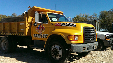 "Bubba's Dirt And Landscape Supplies ""Big Yella"""